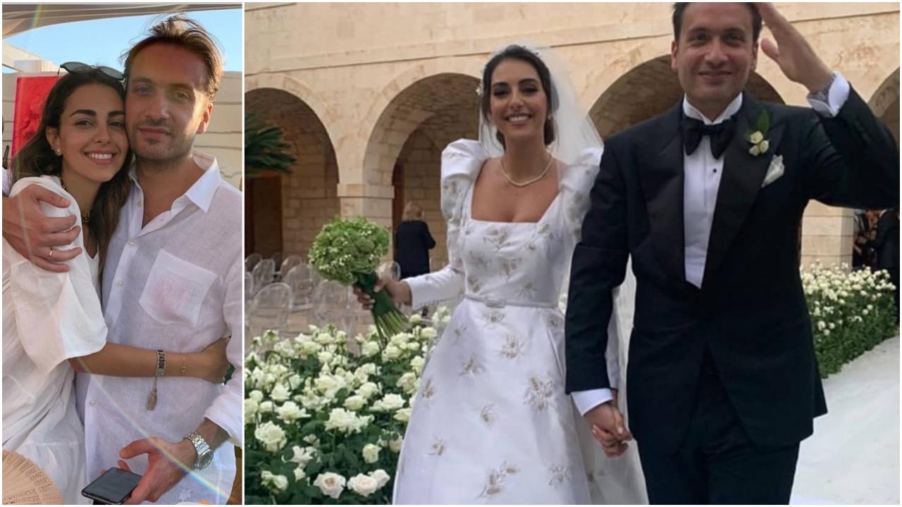 زفاف فاليري ابو شقرا