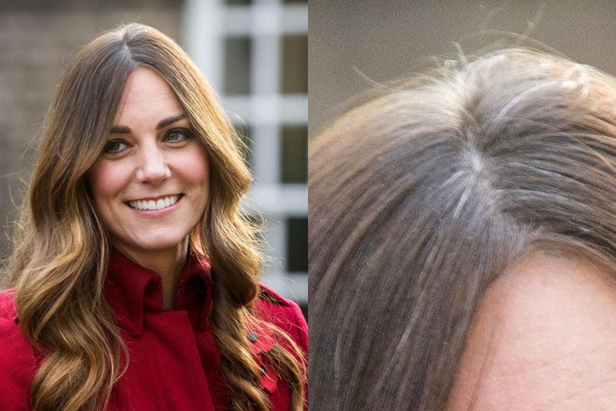 نجمات لا يخفين الشعر الابيض