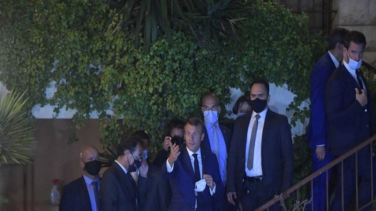 زيارة الرئيس ايمانويل ماكرون لفيروز