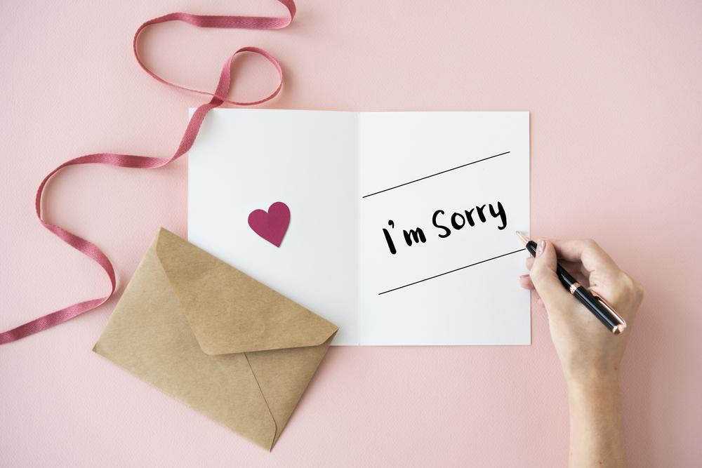 كيفية الاعتذار من الشريك
