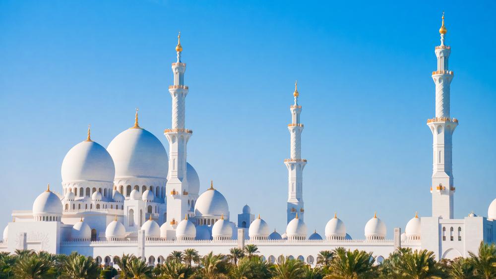 قباب المسجد