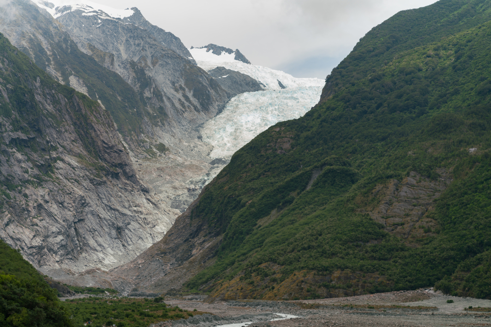 الأنهار الجليدية فوكس وفرانز جوزيف