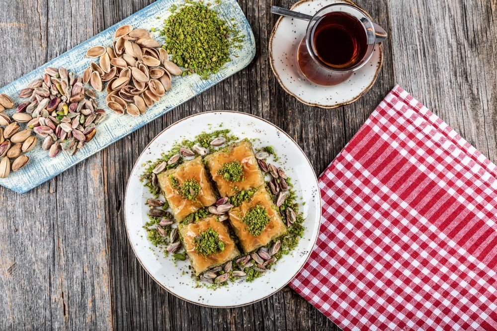 افكار لتزيين حلويات رمضان