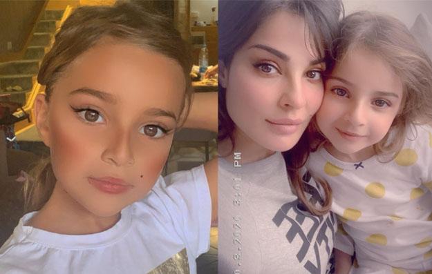 جمال ابنة نادين نجيم