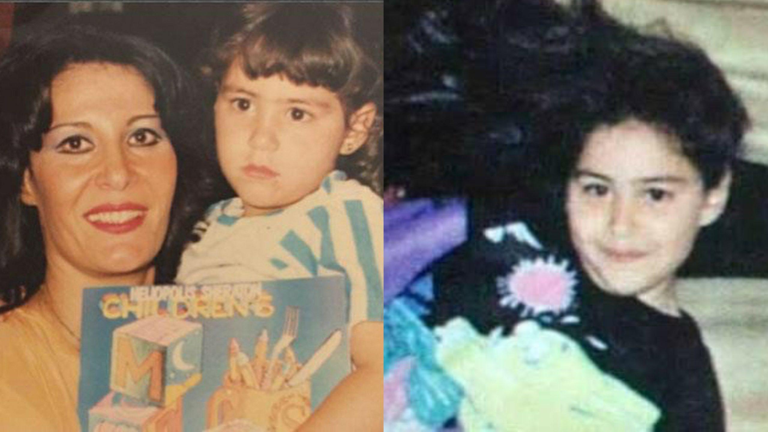 منة شلبي في طفولتها