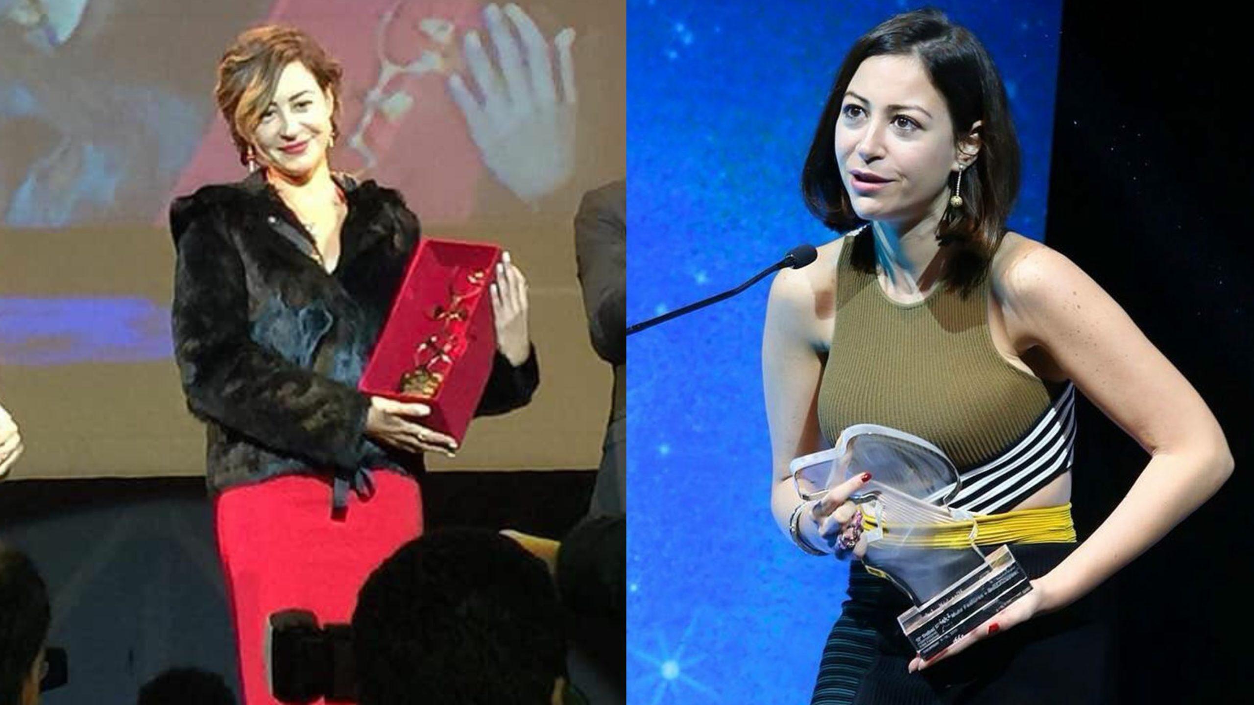 منة شلبي والجوائز