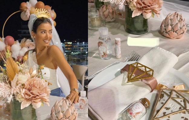 تفاصيل زفاف جيسيكا عازار