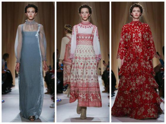 مجموعة فالنتينو للازياء الراقية ربيع وصيف 2015