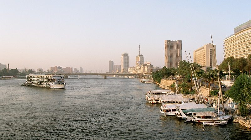 كافيهات على النيل