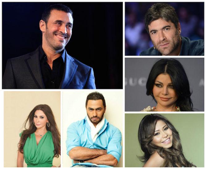 مهن الفنانين العرب قبل الشهرة