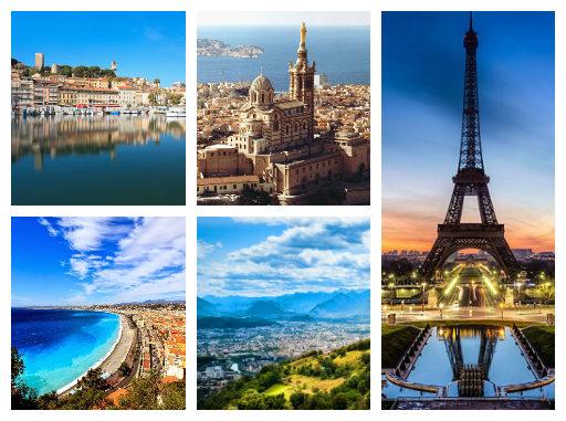 أجمل 5 مدن في فرنسا
