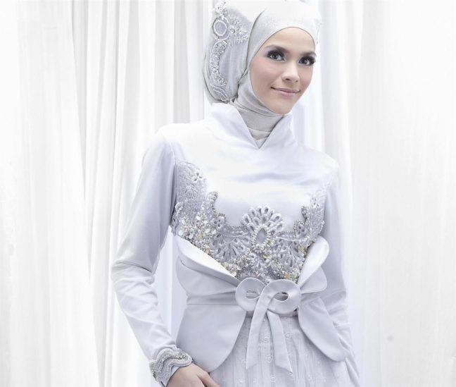 نصائح للعروس المحجبة عند اختيار فستان الزفاف