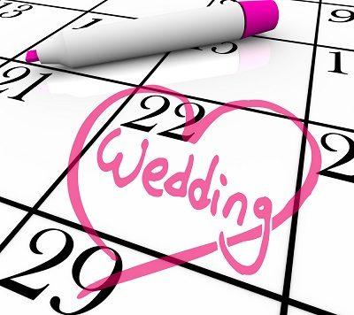 خطوات لتسهيل تنظيم حفل الزفاف
