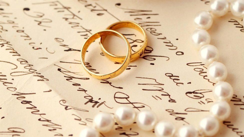 طرق مبتكرة لتصوير خاتم الزفاف