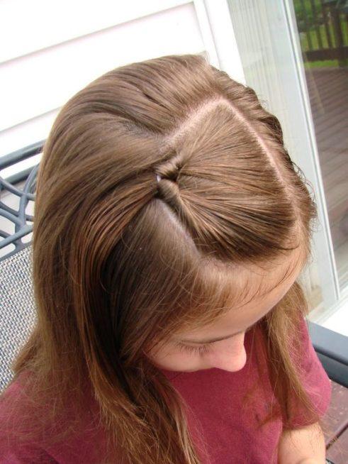 تسريحات شعر قصير للاطفال بسيطة