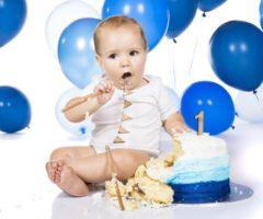 افكار جميلة لاول عيد ميلاد للطفل