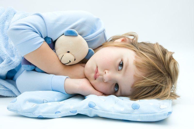 قلة النوم عند الاطفال