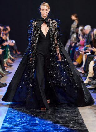 أزياء ايلي صعب خريف وشتاء 2020 ضمن أسبوع الموضة العالمية في العاصمة الفرنسية باريس