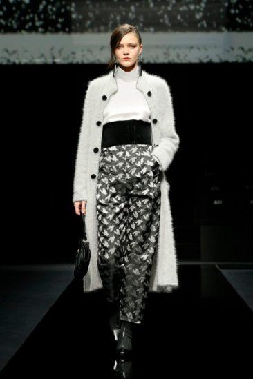 أزياء جورجيور أرماني خريف وشتاء 2020 ضمن أسبوع الموضة العالمية في ميلانو