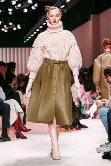 ازياء فندي خريف وشاء 2020 ضمن أسبوع الموضة العالمية في ميلانو في ايطاليا