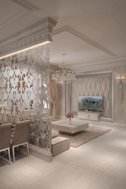 بالصور ديكورات مبتكرة تفصل بين غرف منزلك أنوثة Ounousa موقع الموضة والجمال للمرأة العربية