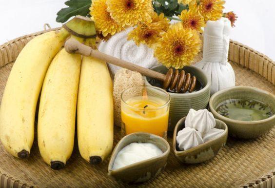 قناع الموز للتجاعيد