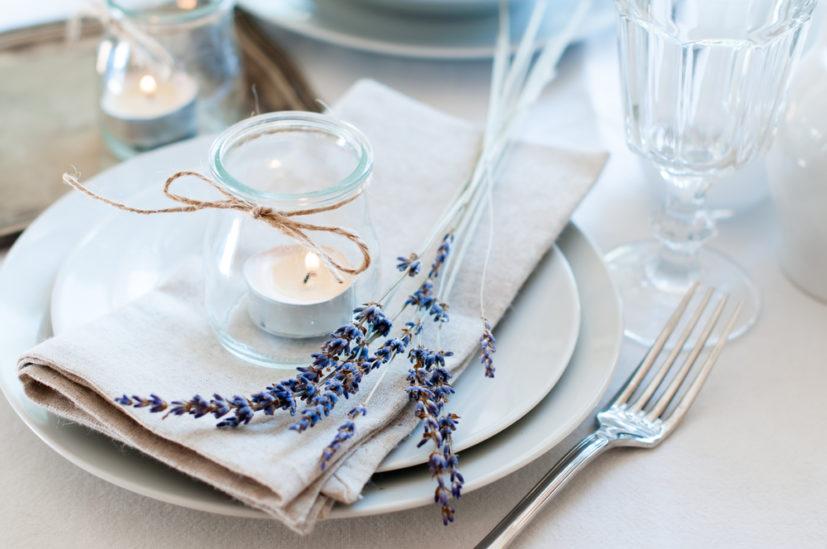 صور ترتيب طاولة الطعام للضيوف - أنوثة