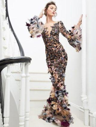 أزياء ماركيزا ما قبل خريف 2020 - أنوثة