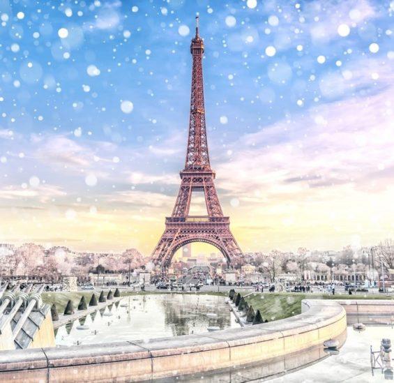 السياحة في باريس خلال شهر ديسمبر - أنوثة