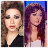 """<p dir=""""RTL"""">وفي بداياتها الفنية، هكذا كانت تطل ميريام خلال مشاركتها في استوديو الفن ضمن فئة الأغنية الشعبية اللبنانية.</p>"""