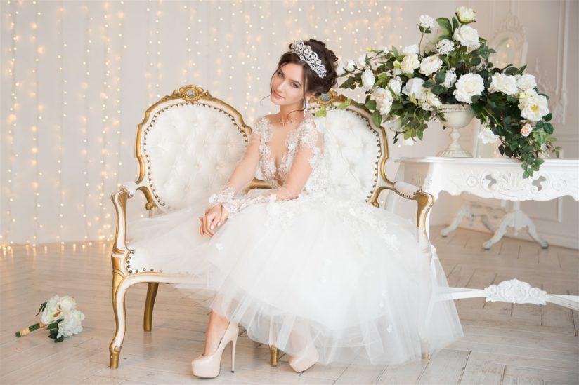 فساتين أعراس قصيرة - أنوثة