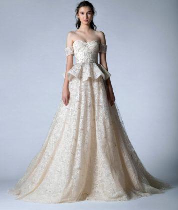 فساتين زفاف جورج حبيقة خريف 2020 – أنوثة