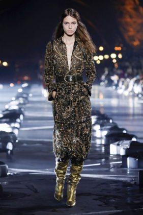 أزياء سان لوران لربيع وصيف 2020 – أنوثة