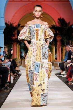 أزياء اوسكار دي لا رينتا ربيع وصيف 2020