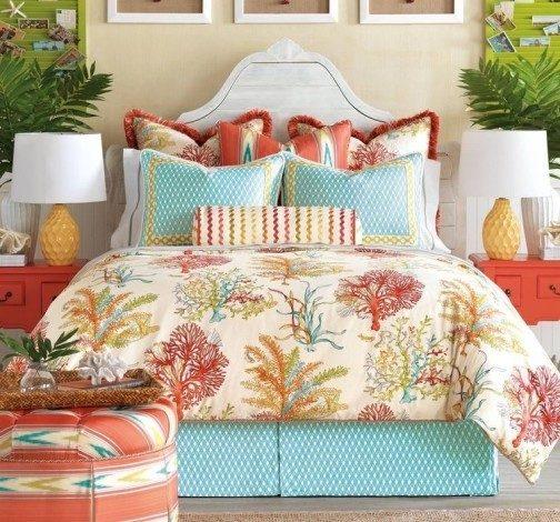 ديكورات صيفية لغرف النوم - أنوثة