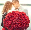 باقات الورود الحمراء للزوجة - أنوثة