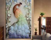 إتجهي نحو لوحة جدارية ضخمة، ملونة ومنحوتة بطريقة ملفتة، وستحصلين على ديكور جذّاب لمنزلك.