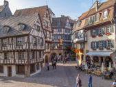 لا تزال كولمار تحتفظ بطابعها التراثي التقليدي في الشوارع والابنية خصوصاً في المدينة القديمة