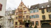 يعتبر لا ميزون دي تيت من أقدم المنازل الخشبية الموجودة في مدينة كولمار الفرنسية