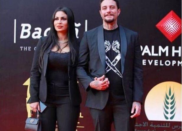 تميز لافت في هذا الزي الرسمي الاسود الذي اختارته زوجة النجم أحمد الفيشاوي، ندى كامل، عند المشاركة في احدى المناسبات الخاصة.