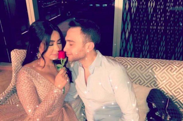 صور محرجة لحسام حبيب مع حبيبته السابقة صديقة شيرين ...