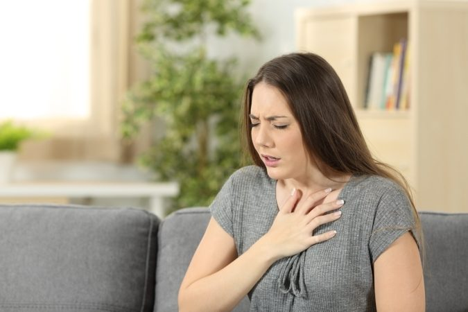 تفسير حلم ضيق التنفس - أنوثة