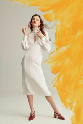 أزياء كارولينا هيريرا ما قبل خريف 2019 - أنوثة