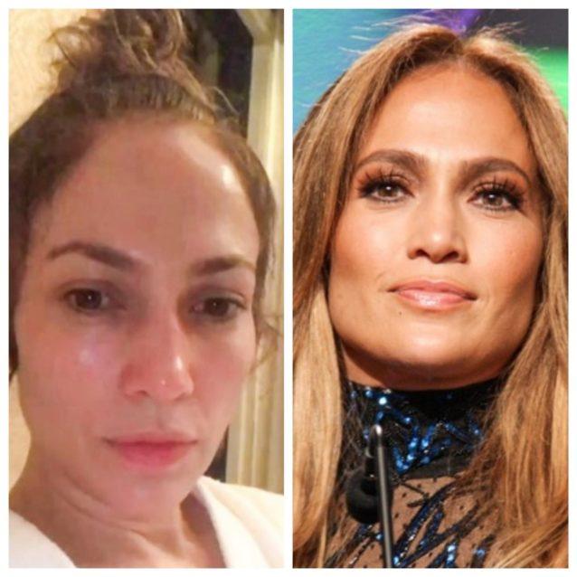"<p dir=""RTL""><strong>جينيفر لوبيز <br /></strong><strong>Jennifer Lopez</strong></p> <p dir=""RTL"">الفنانة الأميركية الشهيرة جينيفر لوبيز التي تعد من أهم الشخصيات الأميركية اللاتينية، تتغير كثيراً بدون مكياج وتصبح إطلالاتها عكس المتعارف عليها.</p>"