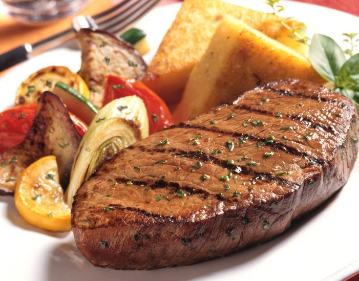 لحم مشوي بالبخار