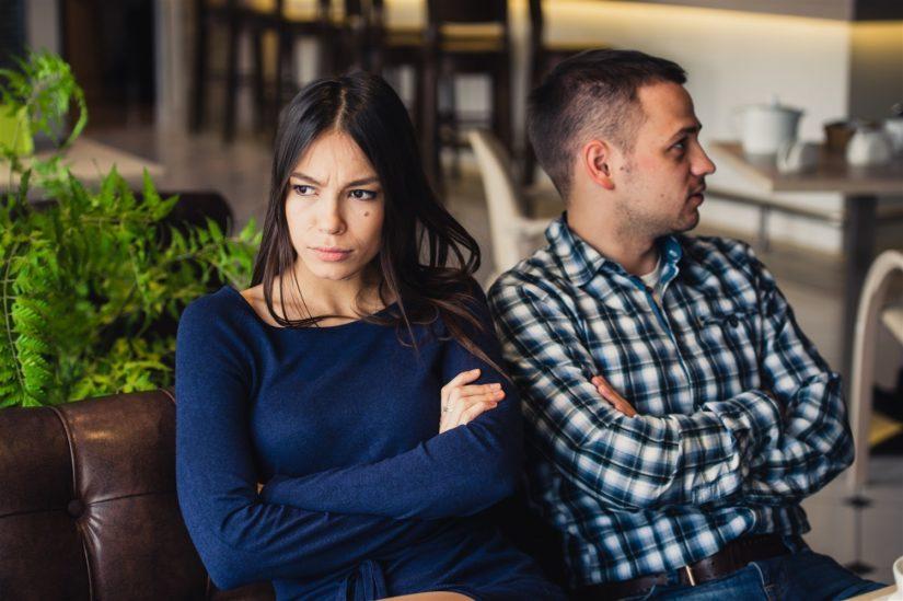 زوجين غير متّفاهمين - أنوثة