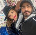 تامر حسني يحتفل بعيد زوجته بسمة بوسيل- أنوثة