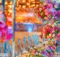 ديكورات ملكية لطاولات حفل الزفاف والتي جمعناها لك من اشهر مزيني حفلات الأعراس في العالم العربي