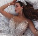 بالصور... فساتين زفاف مرصعة بالكريستال لاطلالة ملكية!