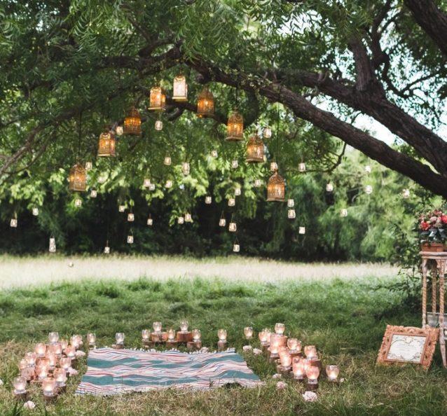 ديكورات متنوعة لحدائق المنازل الصيفية تجدينها في الصور التالية